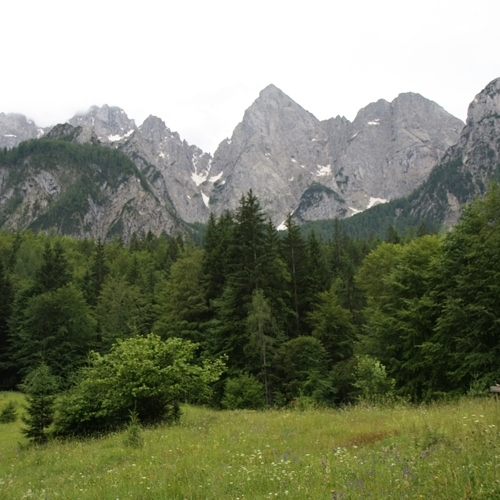 Guided walking in Slovenia- Slovenia - mighty mountains
