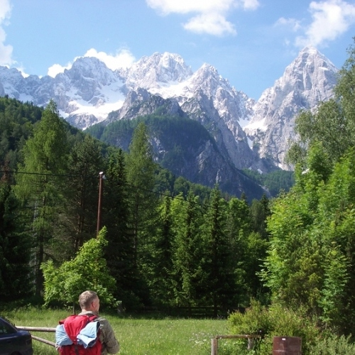 Guided walking in Slovenia- Slovenia - Spik mountain view